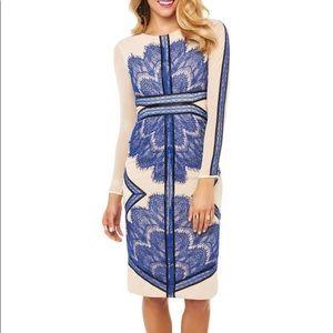 Snidel Cobalt Blue Lace Dress Sz S